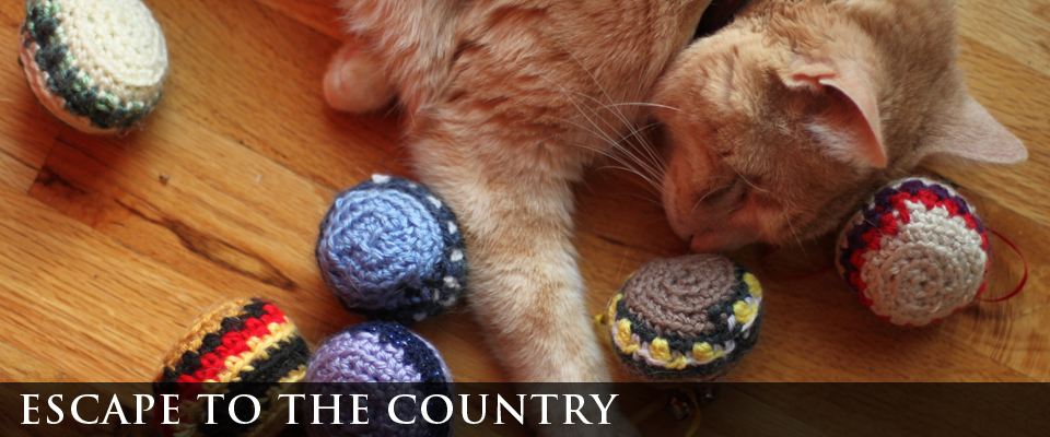 escape to the country | cat toys